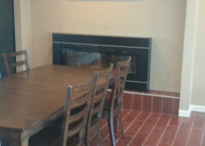 Community dining room painting and remodeling