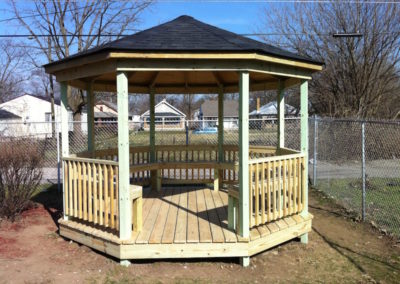 Indianapolis gazebo construction